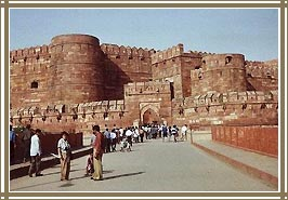 Fort , Agra Tour